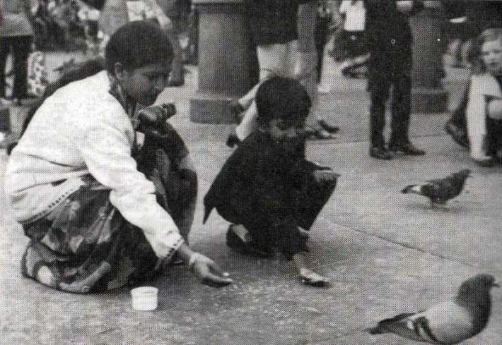 ১৯৭২ সালে লণ্ডনে শেখ রেহানার সঙ্গে রাসেল