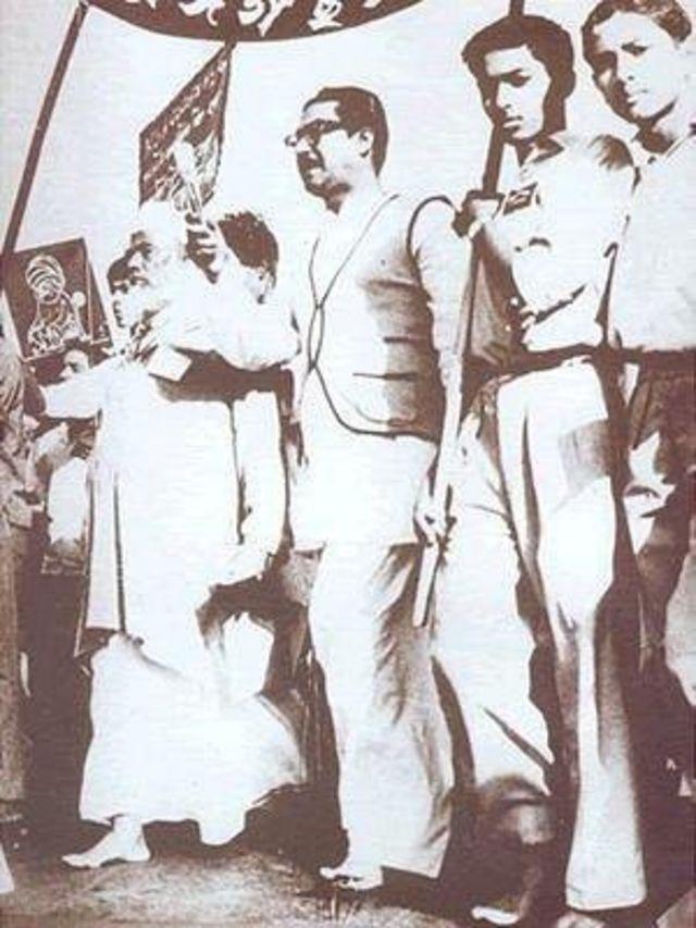মওলানা ভাসানী ও শেখ মুজিব